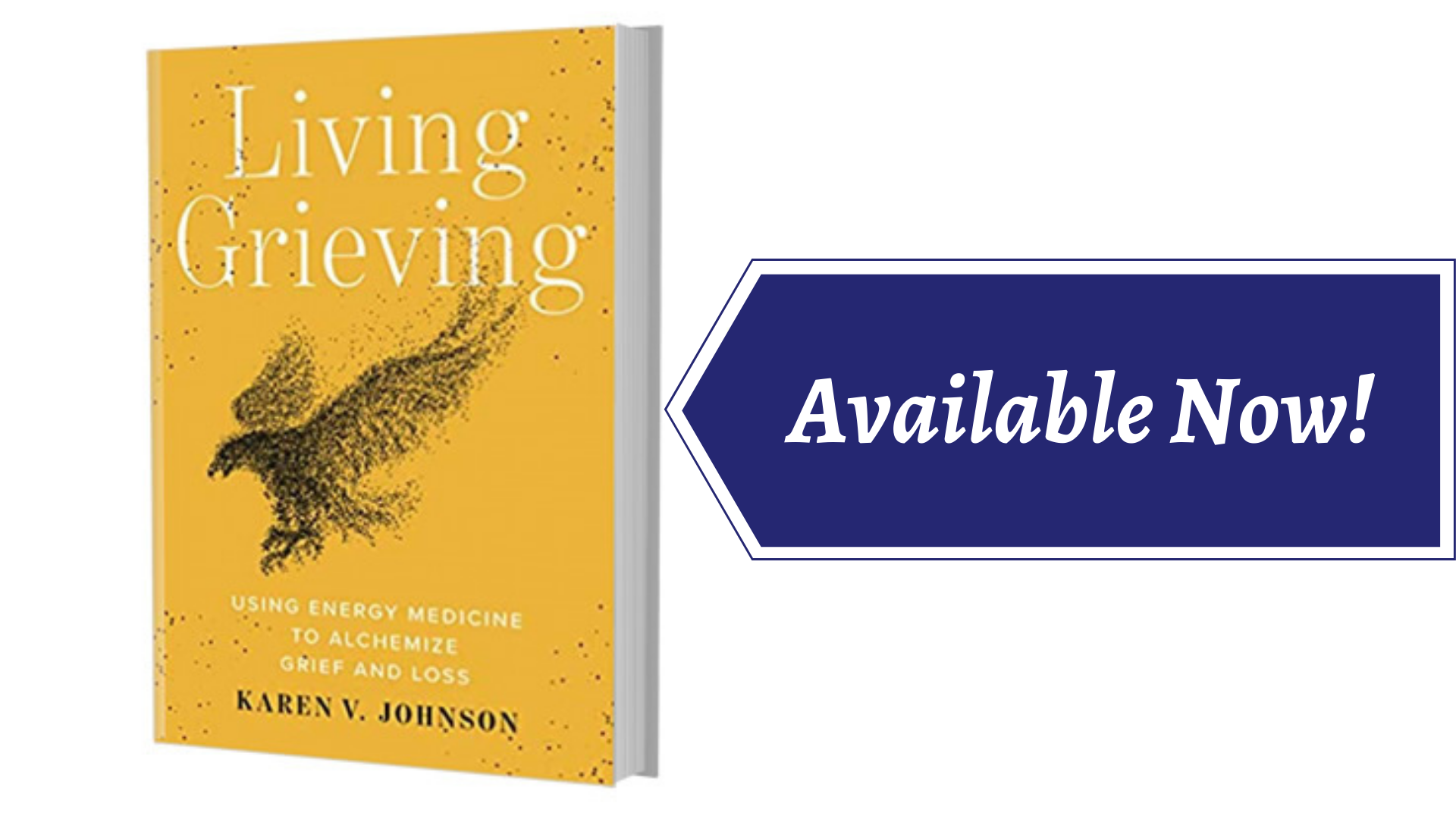 Image of Living Grieving's book cover, with a link to the store page to purchase the book.